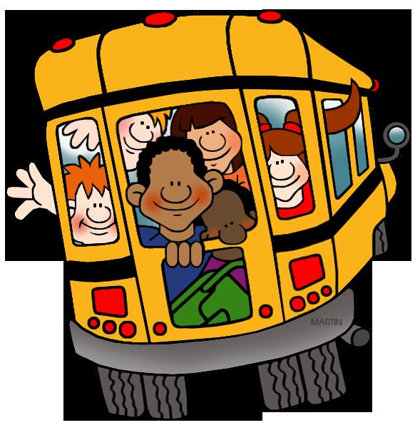 Back clipart school bus. Clip art by phillip