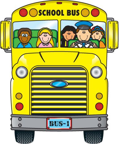 Bus clipart library. Free short best daycare