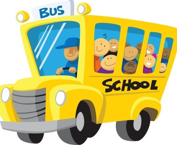 Clip art image clipartix. Back clipart school bus