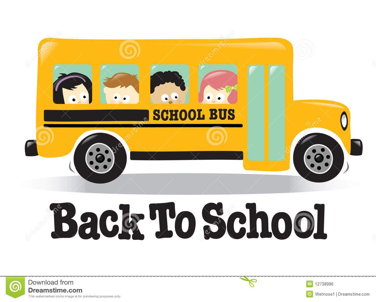 Bus clipart day trip. Free animated cute back