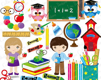 Back clipart school. Clip art etsy to