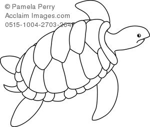 best turtles images. Back clipart sea turtle