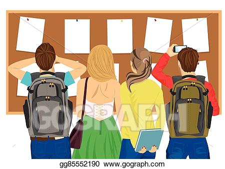 Eps illustration view of. Back clipart student