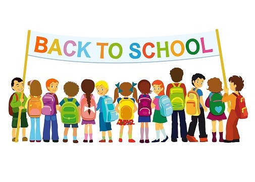 First day to school. Back clipart student