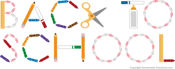 Free to school click. Back clipart transparent