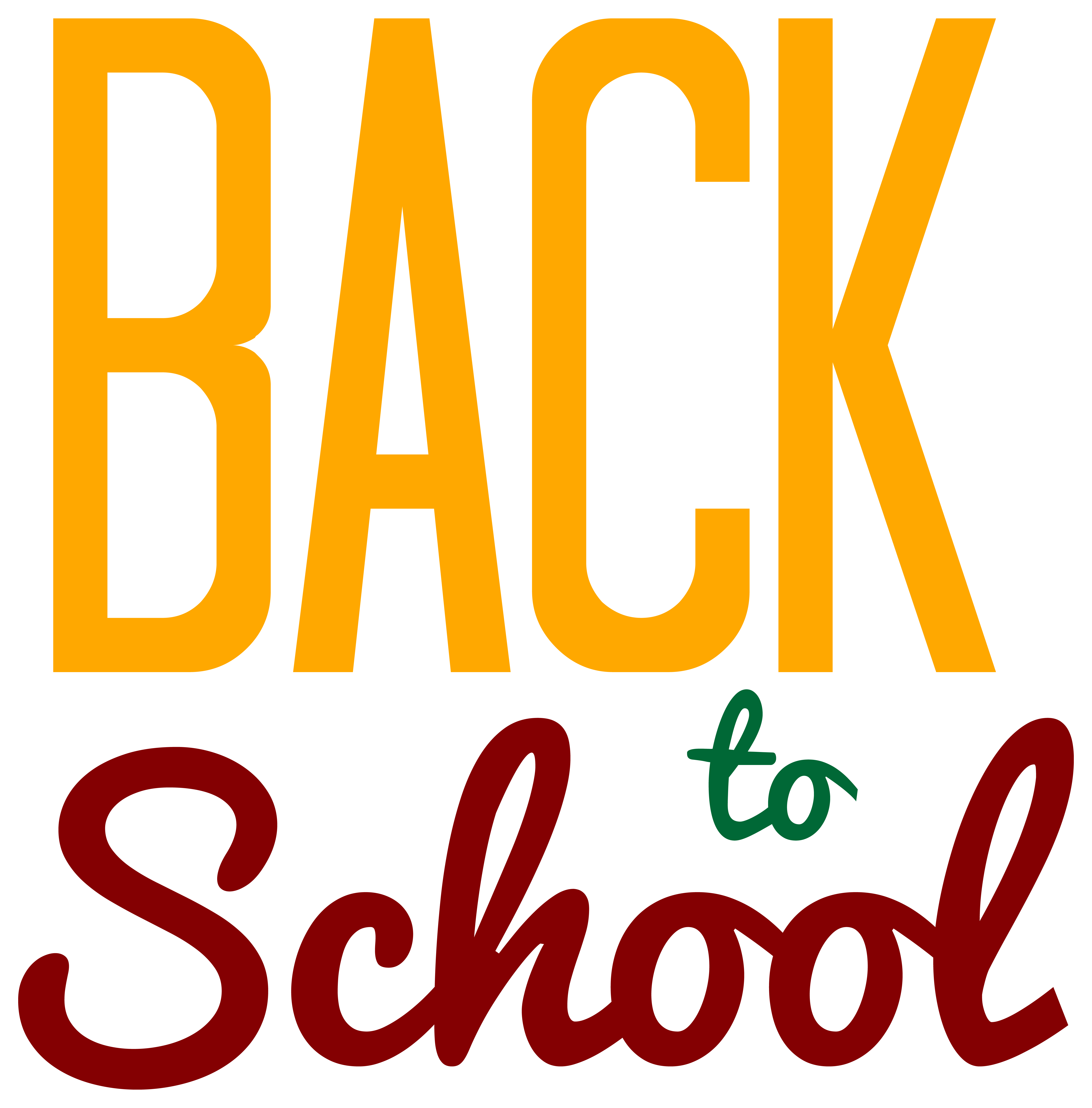 Yellow to school png. Back clipart transparent