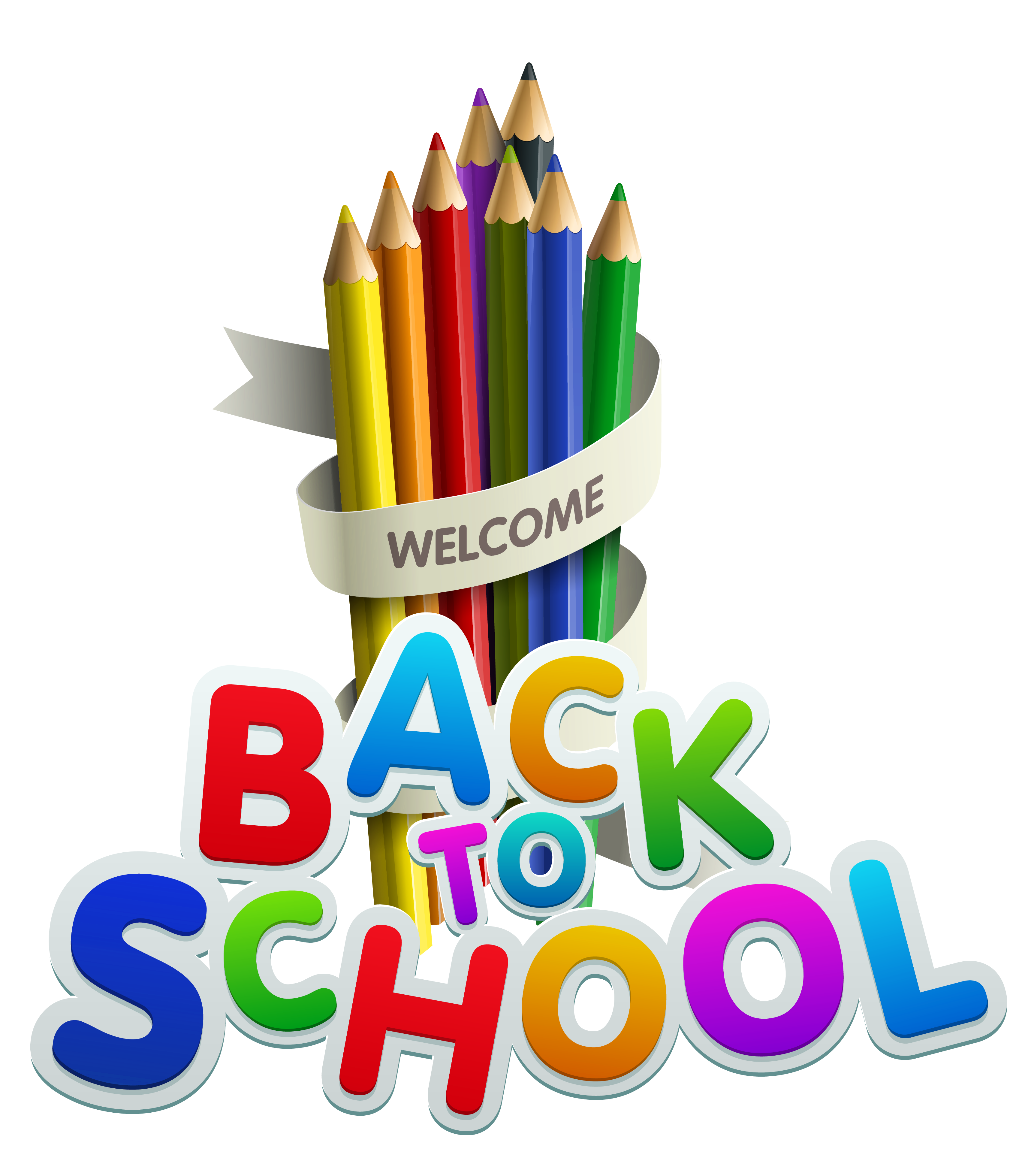 Back clipart transparent. To school decor gallery