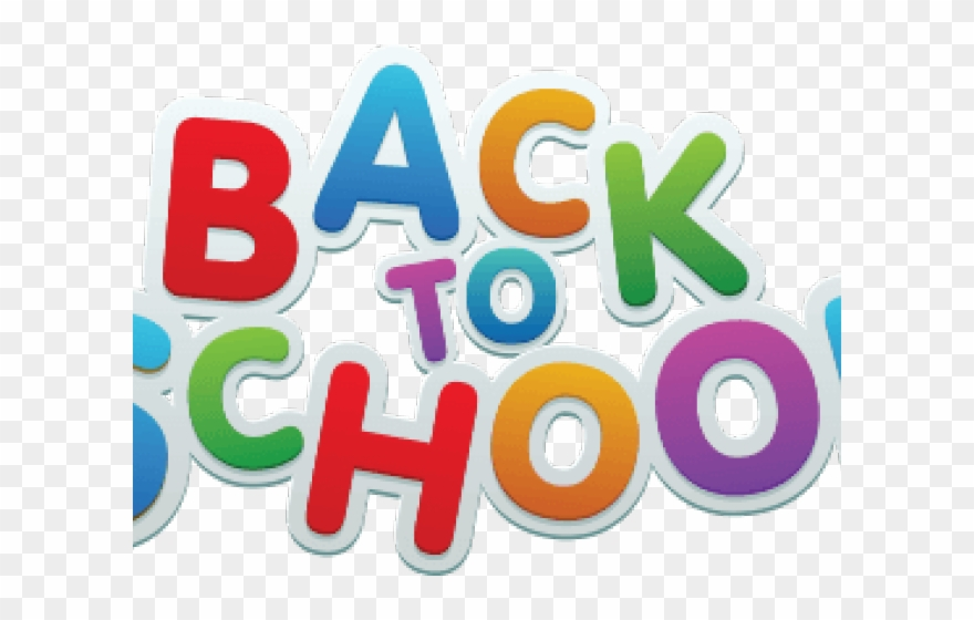 Png to school . Back clipart transparent