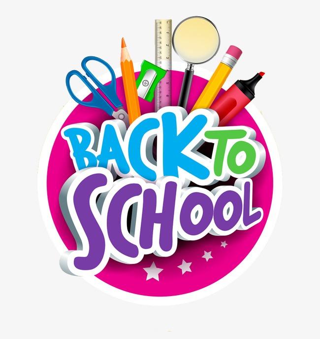 To school cartoon png. Back clipart vector
