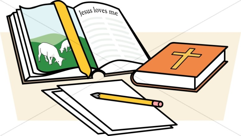 Child study childrens church. Bible clipart children's