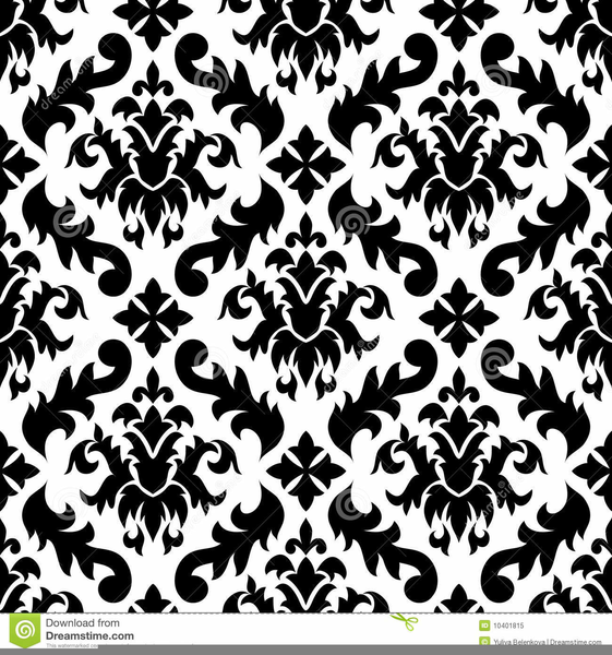 Damask free images at. Background clipart black and white