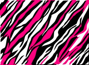 Background clipart black and white. Zebra print clip art