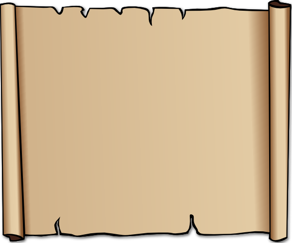 Parchment or border best. Scroll clipart background