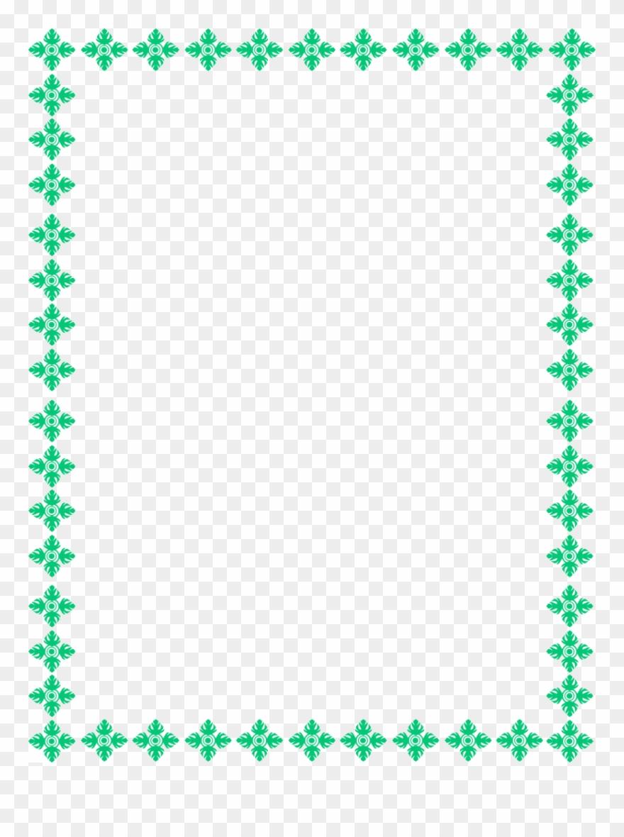 Background clipart border. Teal transparent clip art