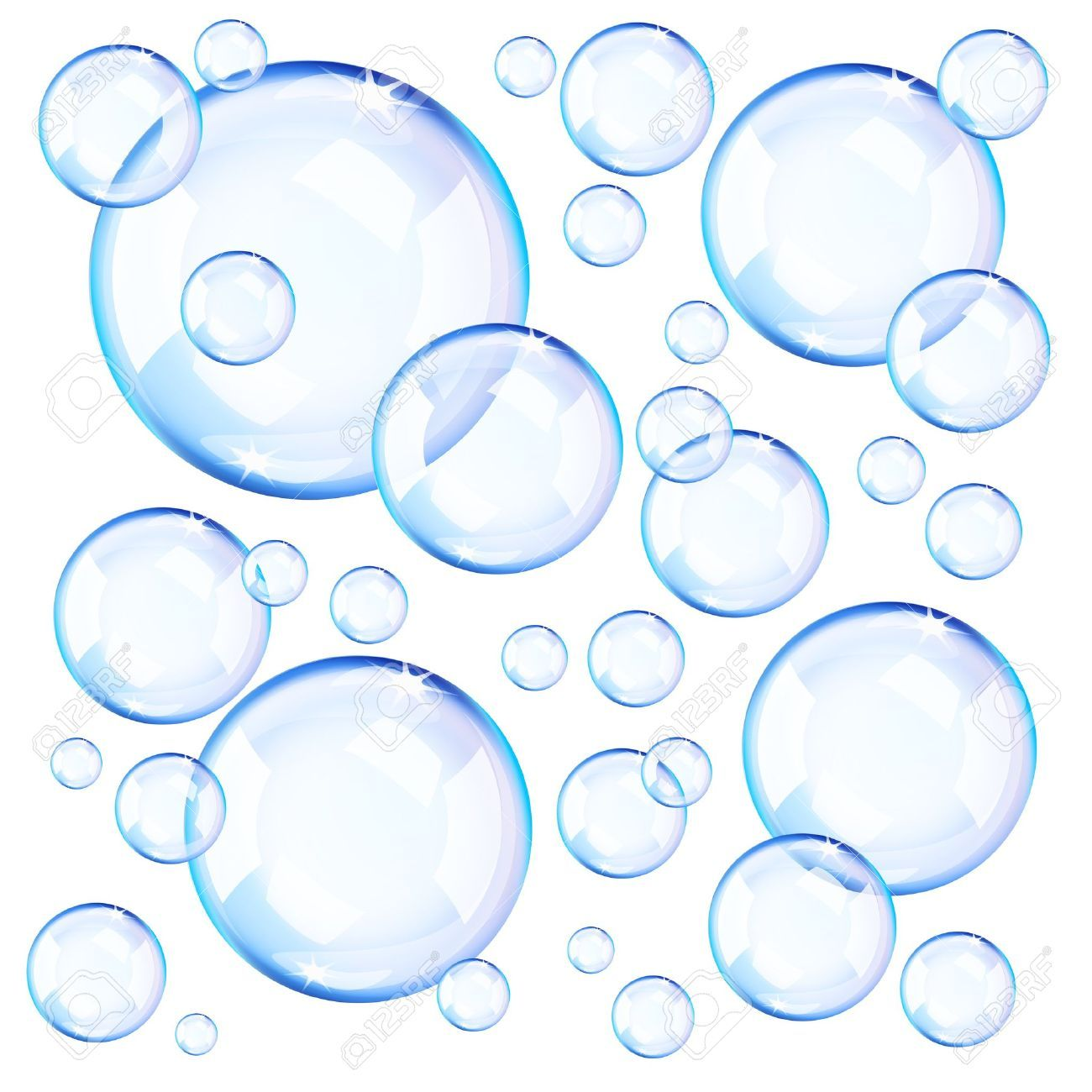 Pencil and in color. Bubble clipart transparent background