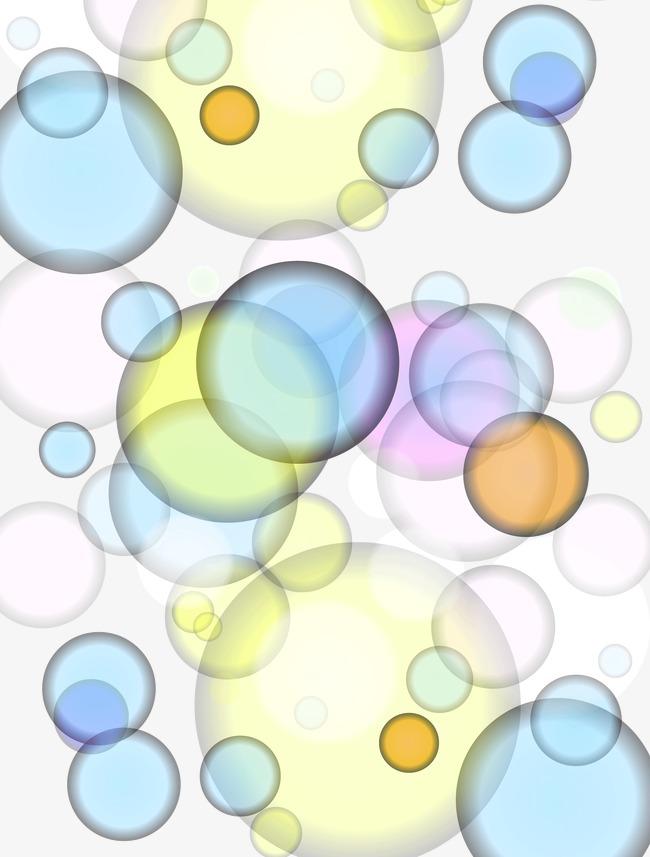 Colored bubbles color png. Background clipart bubble