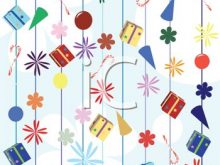 Winter party and holiday. Background clipart celebration