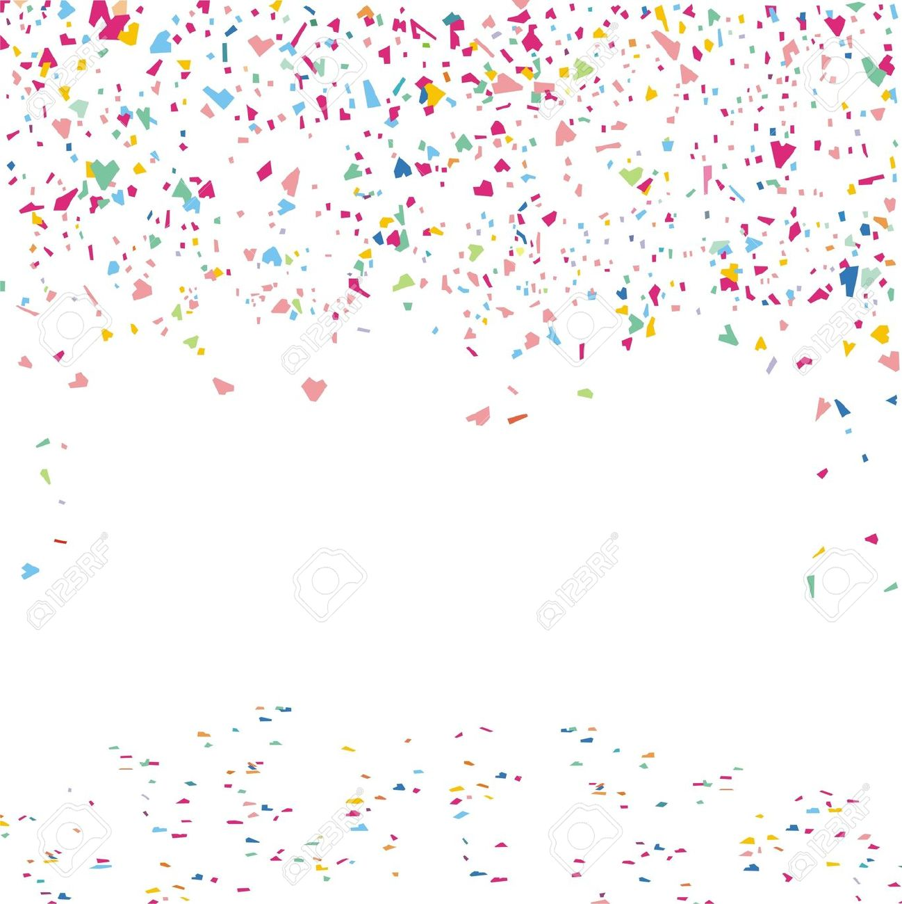 collection of free. Celebrate clipart confetti