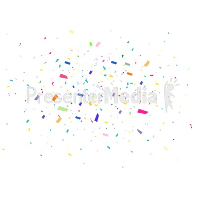 Background presentation great for. Celebrate clipart confetti