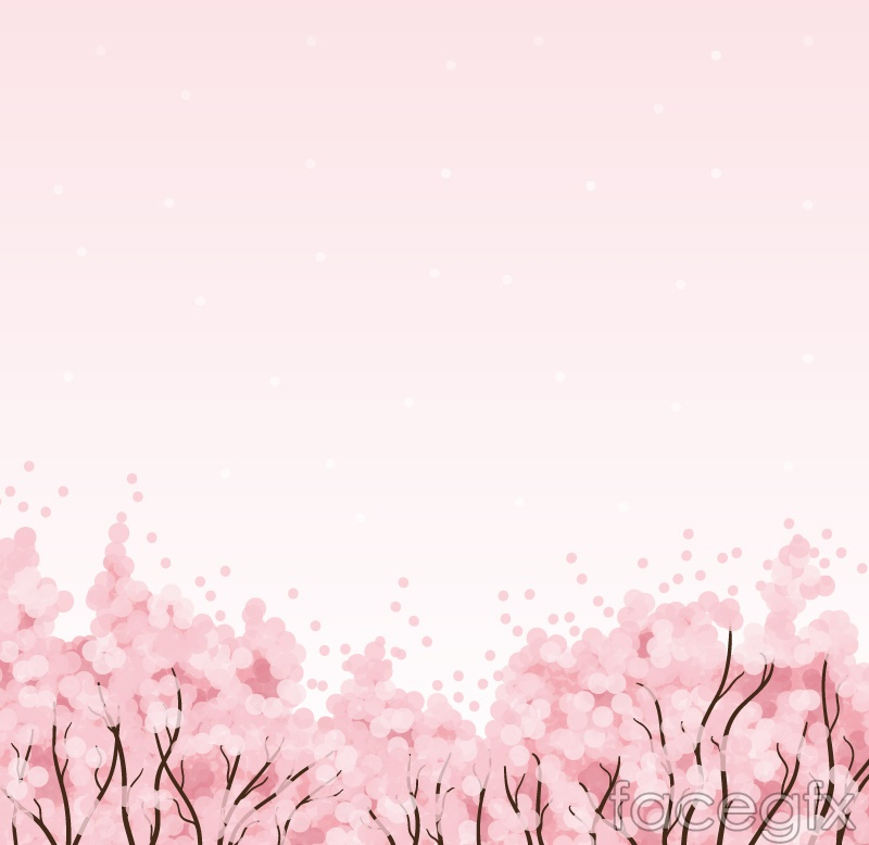 Background clipart cherry blossom. Powerpoint template free download