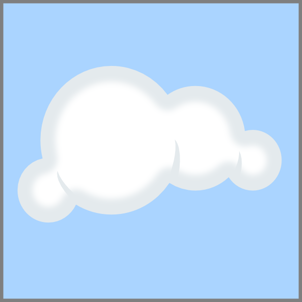 Cloud blue background at. Clouds clipart clip art