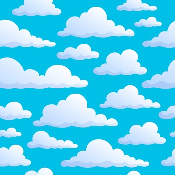 . Background clipart cloud
