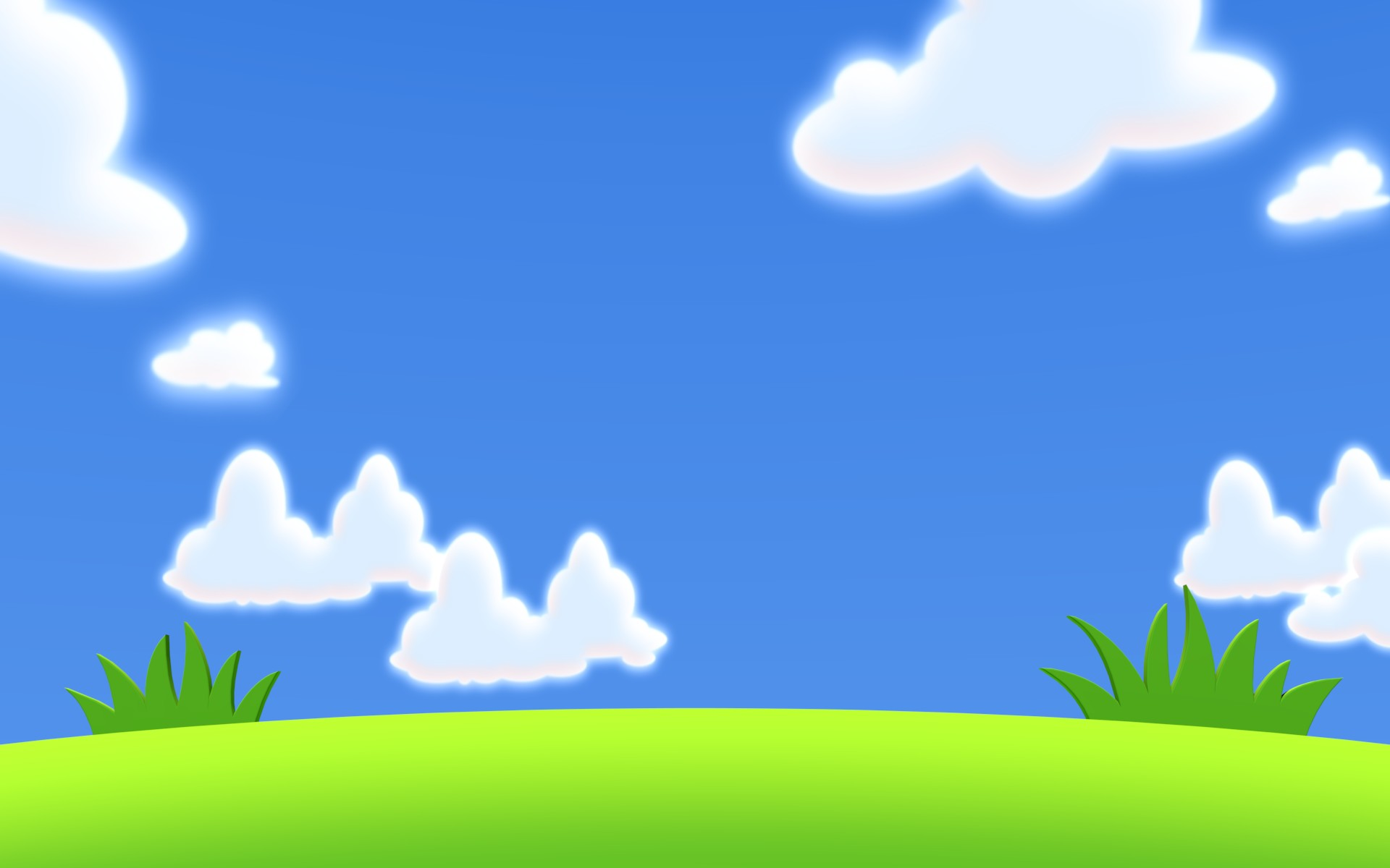 collection of blue. Background clipart cloud