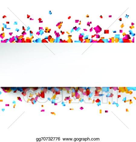 Eps vector celebration stock. Background clipart confetti