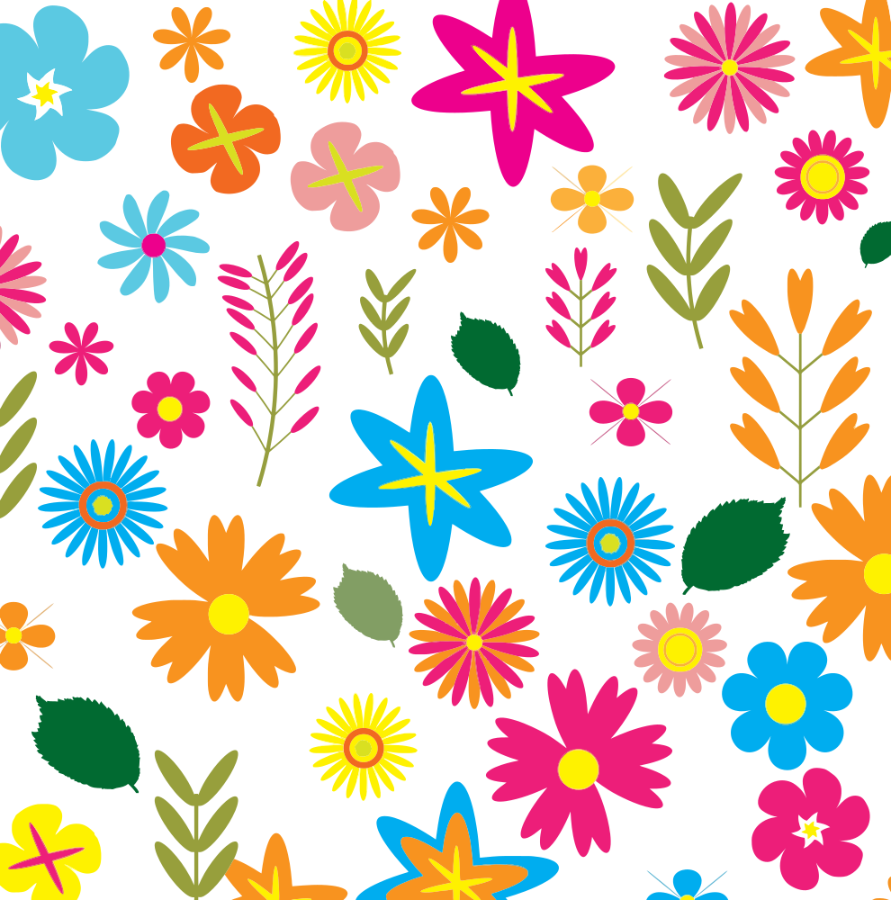 Onlinelabels clip art colorful. Flower pattern png