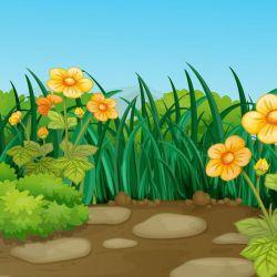 Background clipart flower garden. Images clip art your