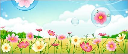 Background clipart flower garden. Free cliparts download clip