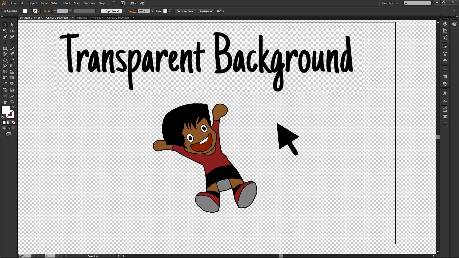 Adobe illustrator cc how. Background clipart invisible