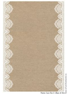 Burlap and clip art. Background clipart lace