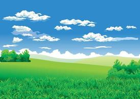 Free and vector graphics. Background clipart landscape