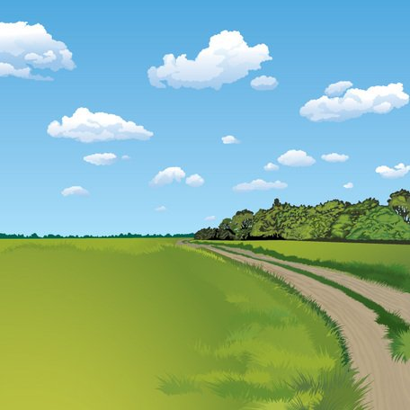 Background clipart landscape. Free summer and vector