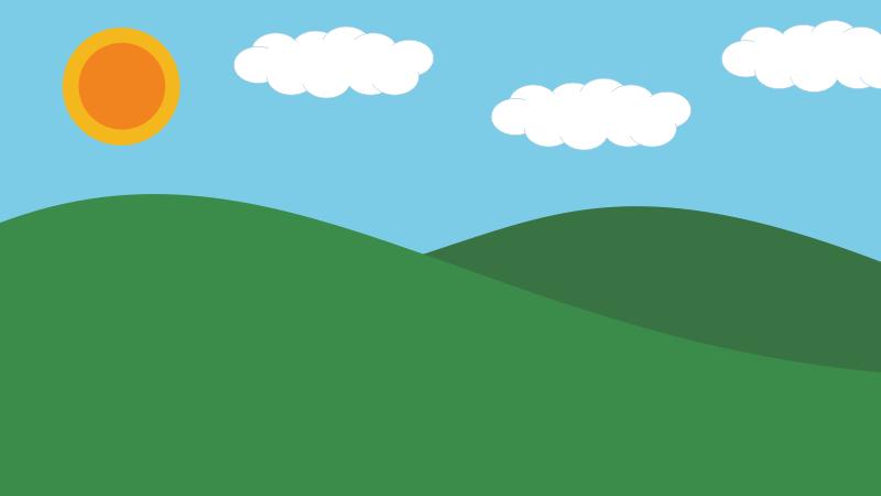 Background clipart landscape. Backgrounds paint on cookie
