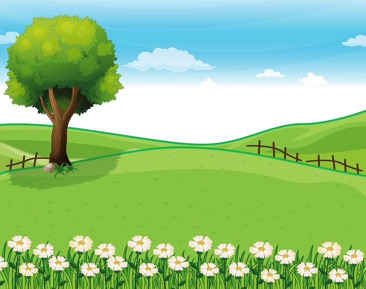 best cartoon images. Background clipart landscape