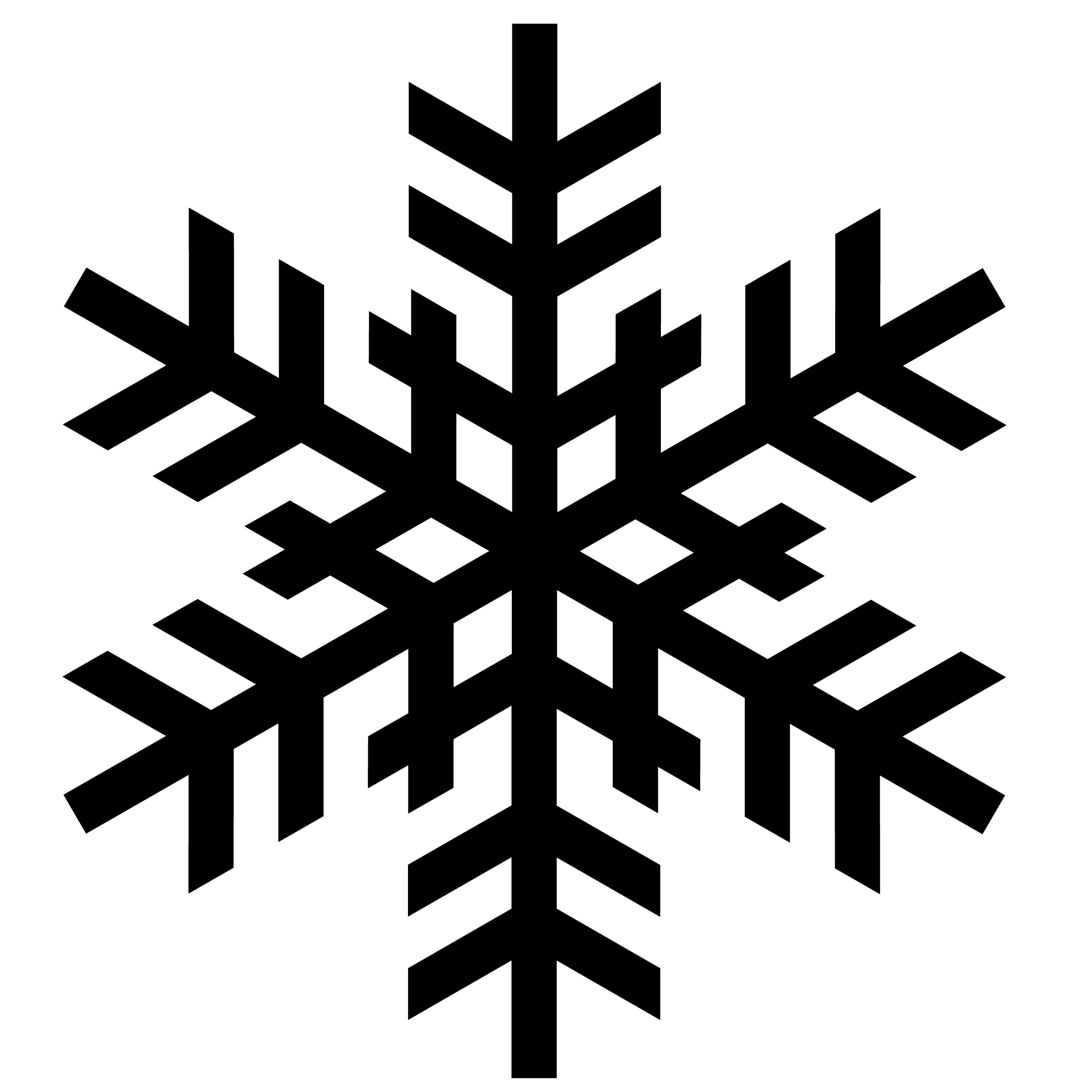 Background clipart library. White snowflake clear free