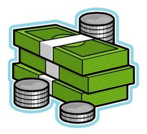 Background clipart money. Sign clip art no