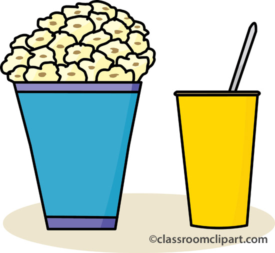 Popcorn no panda free. Background clipart movie