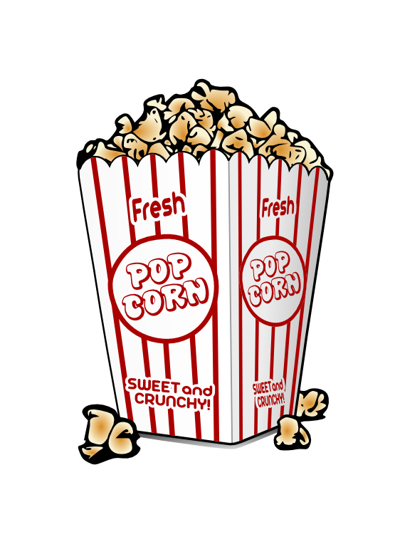 Image movie popcorn no. Clipart library background