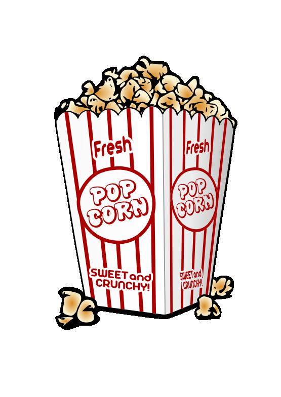 Image popcorn no px. Background clipart movie