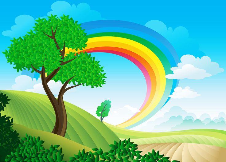 Background clipart nature.  best cartoon landscape