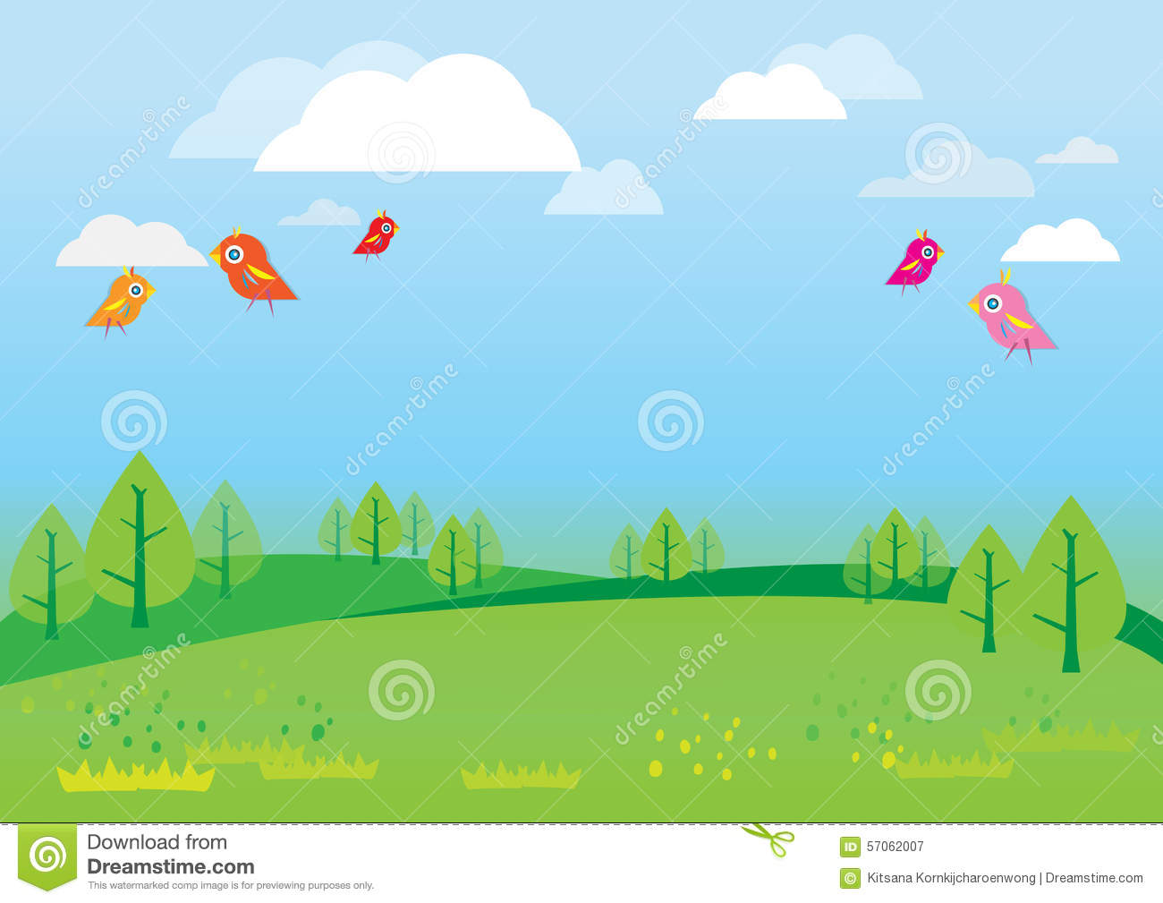 Background clipart nature. For kids station
