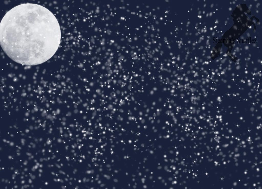 Snowy by sieannaboo on. Background clipart night
