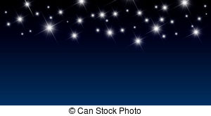 collection of starry. Background clipart night