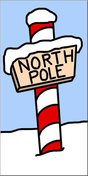 Shop clip art library. Background clipart north pole