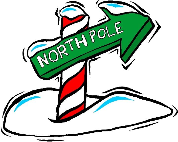 collection of high. Background clipart north pole