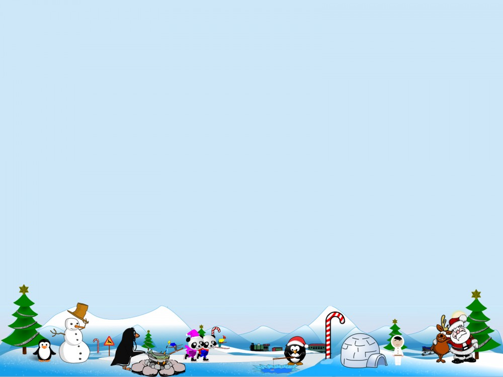 Background clipart north pole. Artic scene for holidays