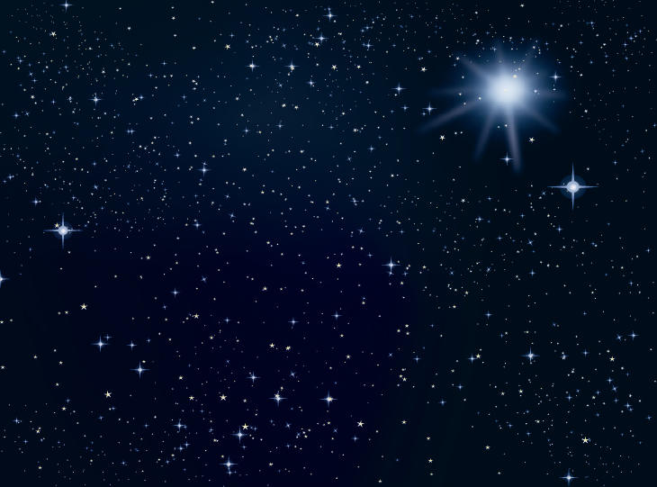 Stars vector download. Background clipart outer space